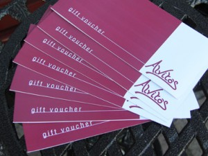 An Alvito's Voucher - the perfect gift!